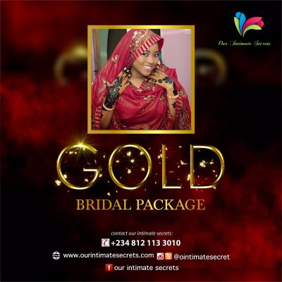 BRIDAL PACKAGE ( GOLD)
